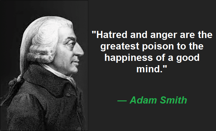 Hatred and anger are the greatest poison to the happiness of a good mind.