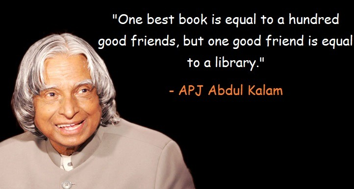 One best book is equal to a hundred good friends, but one good friend is equal to a library.