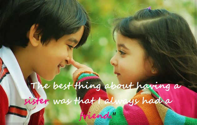 29 Cute Love Quotes on Brother and Sister – NetizensHouse