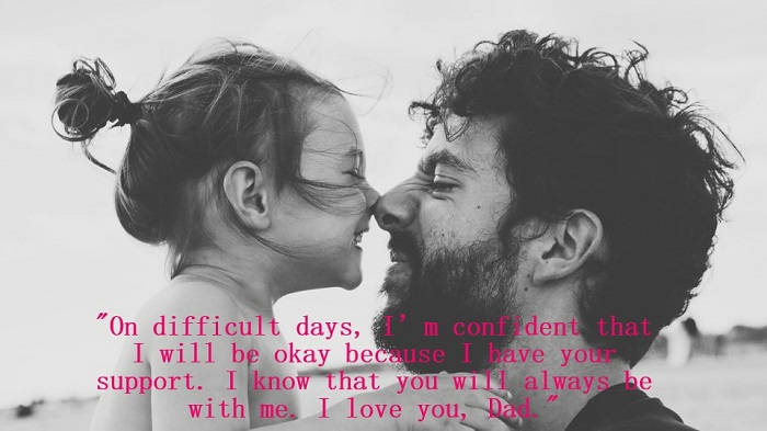 """849cb6203 On difficult days, I'm confident that I will be okay because I have. """" Fathers, be your daughter's 1st love and ..."""